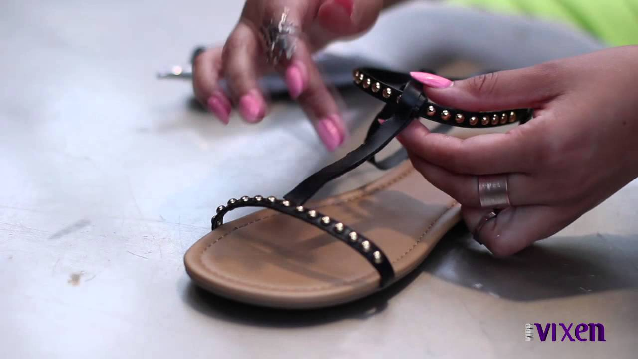 cfbf6fb31a76 DIY Gladiator Sandals  VIBE Vixen Style Profile - YouTube