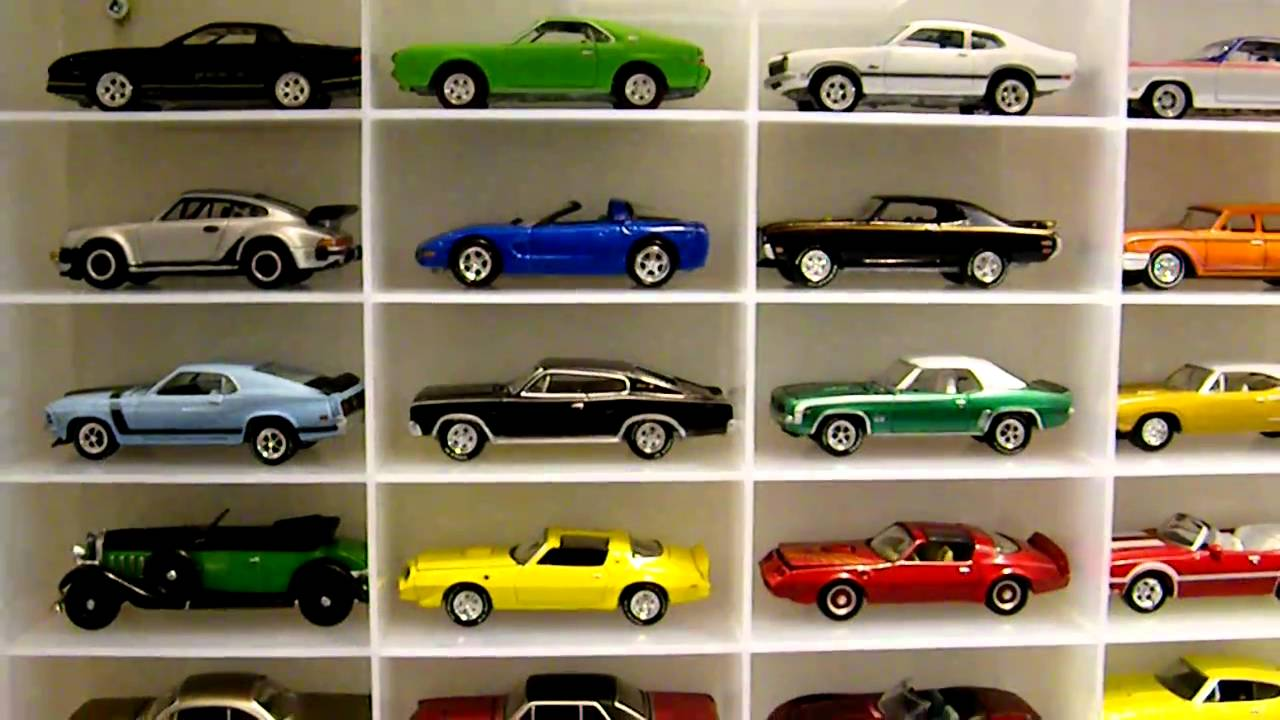 Johnny Lightning toy car collection - YouTube