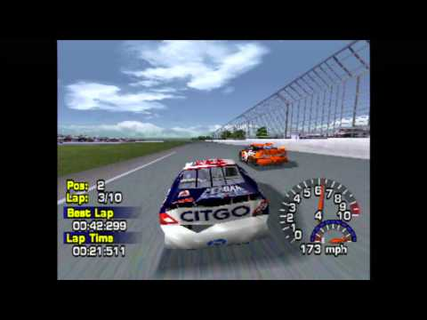 Nascar Thunder 2003 (PS1) gameplay - YouTube