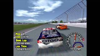 Nascar Thunder 2003 (PS1) gameplay