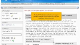 H-Kugel - Wie eine MySQL-Datenbank erstellen, in der H-Sphäre