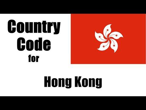 Hong Kong Dialing Code - Hong Kong Country Code - Telephone Area Codes In Hong Kong