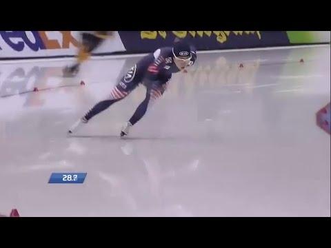 Lee Sang-Hwa 500m - 36.36 (WR). WC Salt-Lake City 2013/2014
