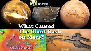 What caused the GIANT gash on Mars? Valles MarinEris