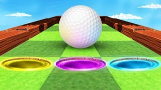 ONLY ONE PORTAL IS A HOLE IN ONE! (Golf It)