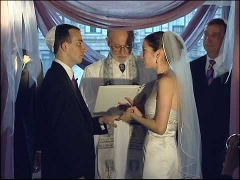 The Jewish Wedding Ceremony Video In Manhattan Photo Productions Services NYC