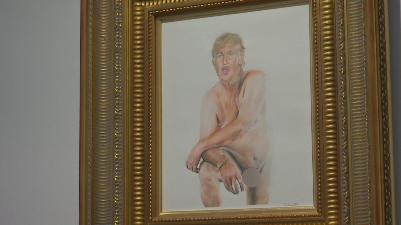 Trump nude
