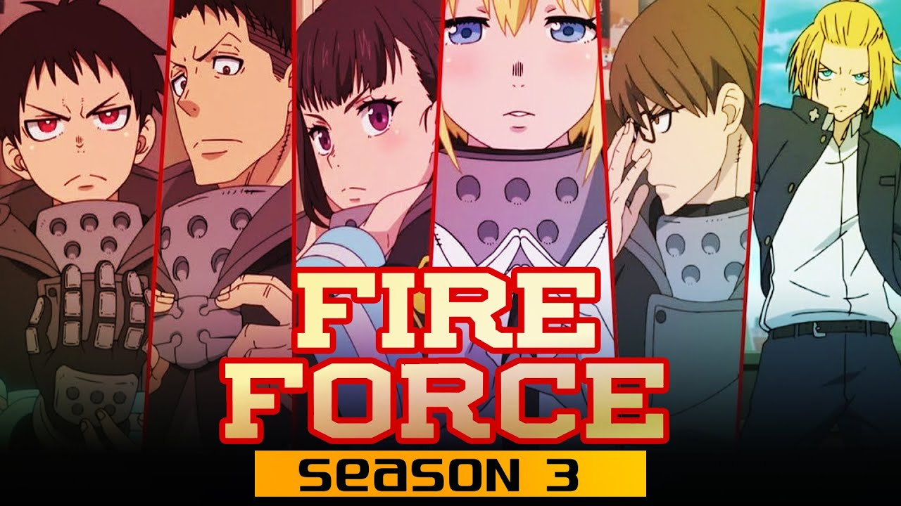 Fire Force Season 3 Release Date