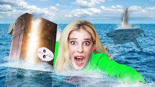 FOUND Hidden $10,000 GAME MASTER Treasure Chest at Bottom of Lake! | Rebecca Zamolo