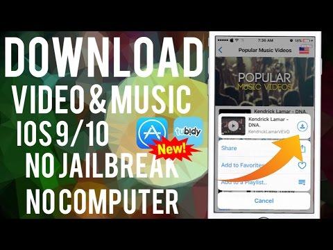 NEW! Video & Music Downloader APP IOS 10 iPhone iPad iPod NO JAILBREAK NO COMPUTER