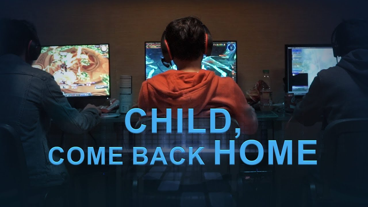 "Vem har räddat de dataspelsberoende tonåringarna? ""Child, Come Back Home"" (Christian Movie Trailer)"