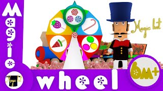 Magic wheel. Funny Cartoons For Children
