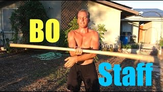 Bo Staff Spins, video 2
