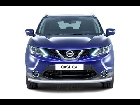 Nissan Qashqai 2014 Монтаж защиты переднего бампера