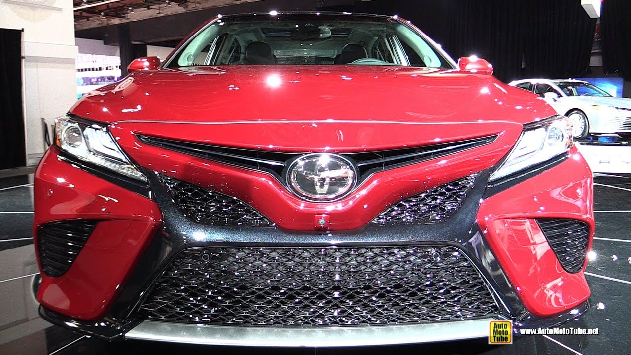 2018 toyota camry xse exterior and interior walkaround. Black Bedroom Furniture Sets. Home Design Ideas