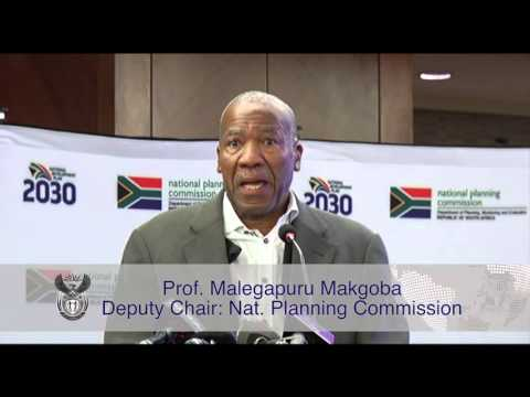 Minister Jeff Radebe briefs media on National Planning Commission