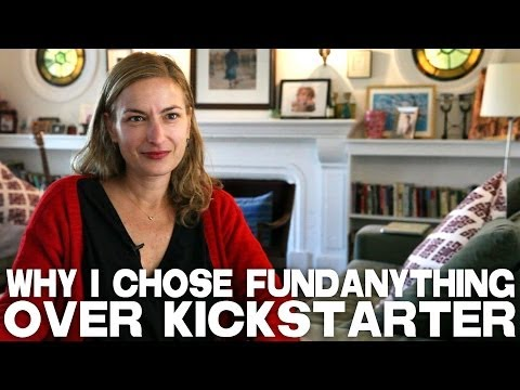 Why I Chose FundAnything Over Kickstarter by Zoe Cassavetes