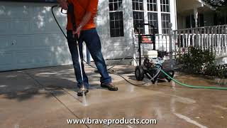 BravePro 3,000 PSI Cold Water Pressure Washer