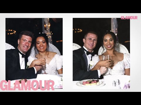 Newlyweds Recreate Their Parents' Wedding Photos | Glamour