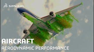 Aircraft Aerodynamic Performance | SIMULIA CFD Simulation Software
