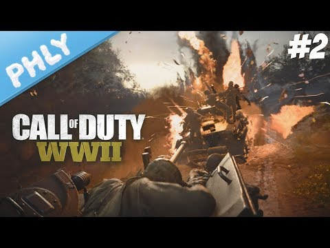 Call Of Duty WW2 - SHERMAN TANK CONVOY | Part 2 (Call Of Duty WW2 Campaign Gameplay)
