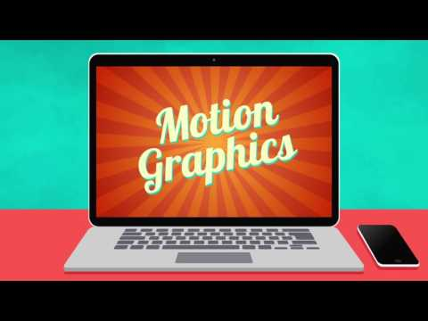 Vibons-Motion Graphics in E-learning video