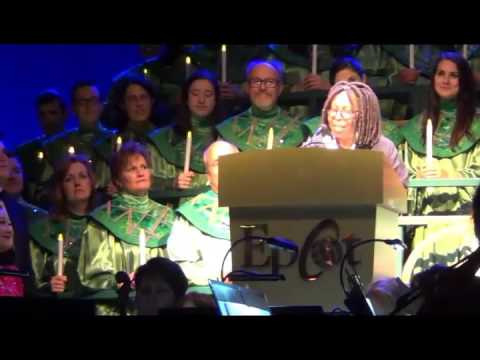 2015 Candlelight Processional Whoopi Goldberg narrator Epcot Dec 4, 2015