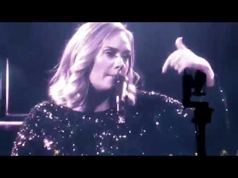 Adele lloró en un concierto por las víctimas de Orlando