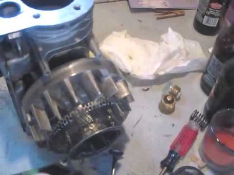 How to convert a gas engine to diesel