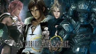 Mobius Final Fantasy High Level Gameplay FF7 - FF8 - FF12 - FF13 Limit Breaks