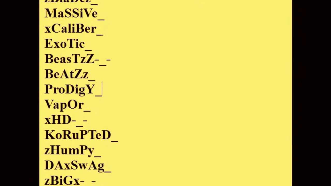 cool account name generator