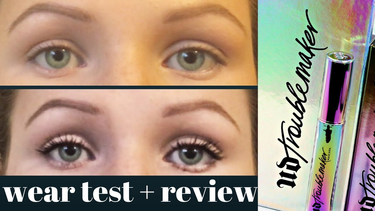 7a75f5fda8c Urban Decay TROUBLEMAKER Mascara: Wear Test and Review - YouTube
