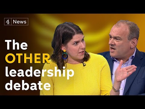 Lib Dem leadership hopefuls Jo Swinson and Ed Davey set out their plans for party leadership
