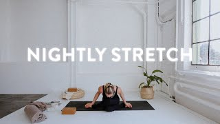 14min of nightly stretch | Yoga with Nina