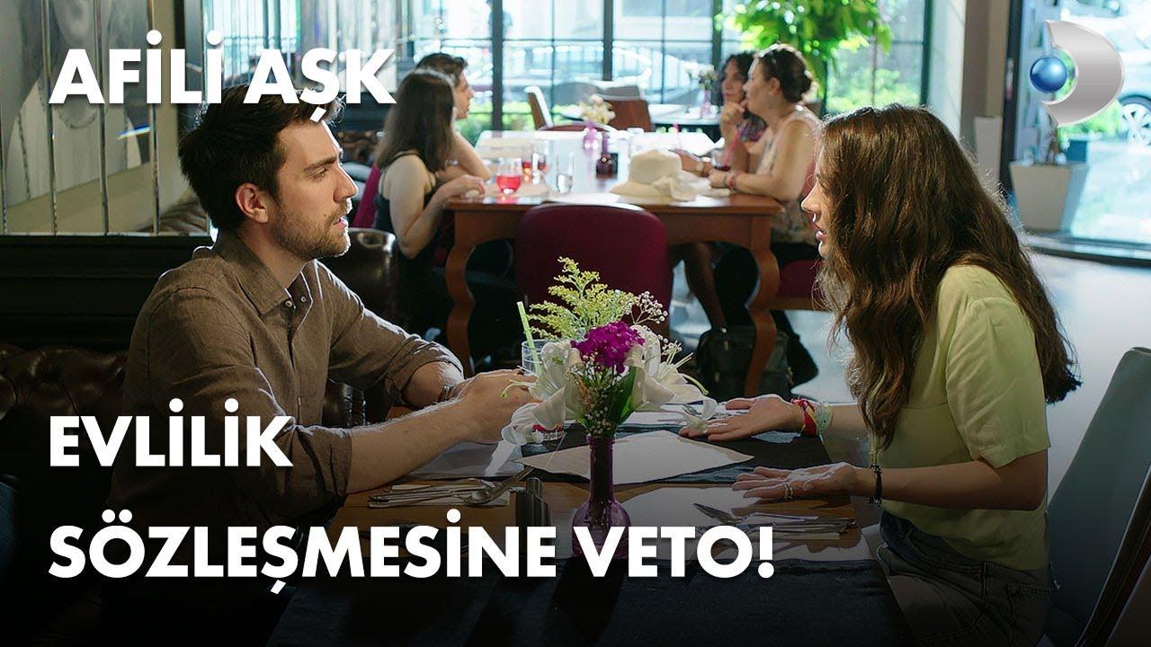 Evlilik sözleşmesine veto! - Afili Aşk 3. Bölüm