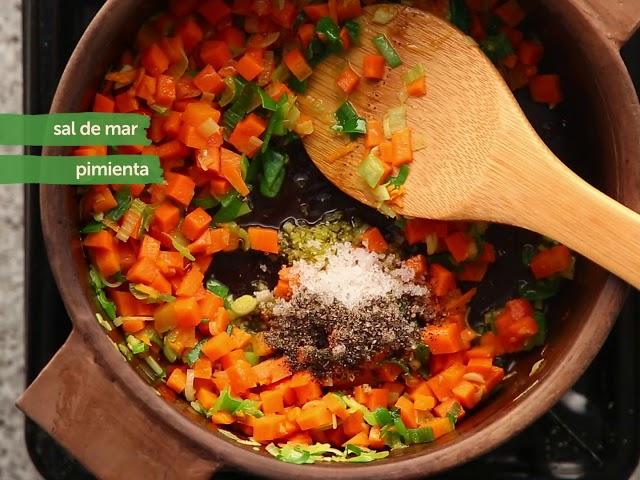Salmón con Lentejas al Curry
