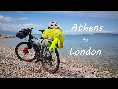 Athens to London by bicycle. A 4300km cycling journey across Europe
