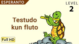"Testudo kun fluto: Learn Esperanto with subtitles – Story for Children and Adults ""BookBox.com"""