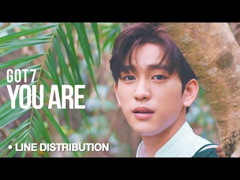 GOT7 - You Are : Line Distribution
