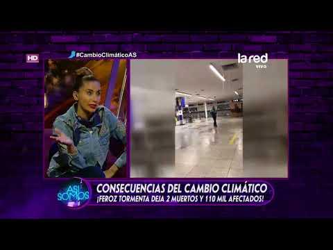 Temporal destrozó metro de Buenos Aires