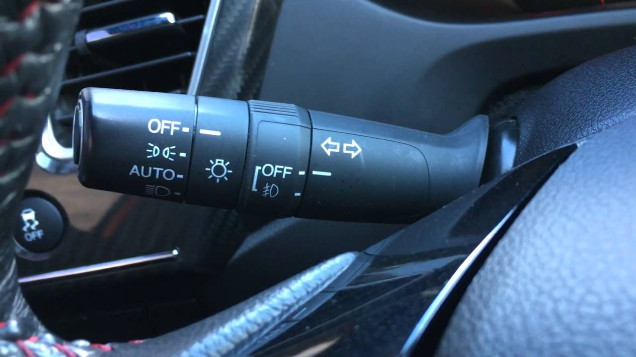 Do You Turn Salt Lamps Off : How to turn on your headlights and fog lights in a 2014 Honda Civic SI - YouTube