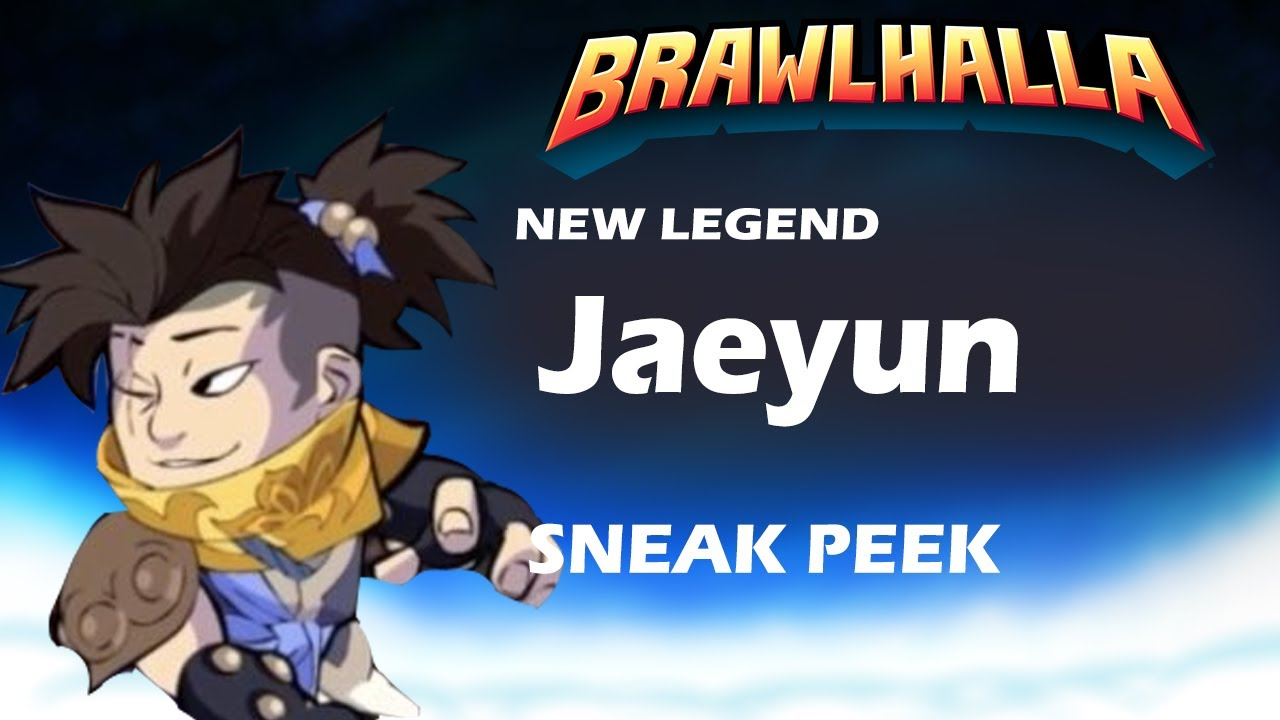 Brawlhalla NEW SWORD LEGEND JAEYUN REVEAL!