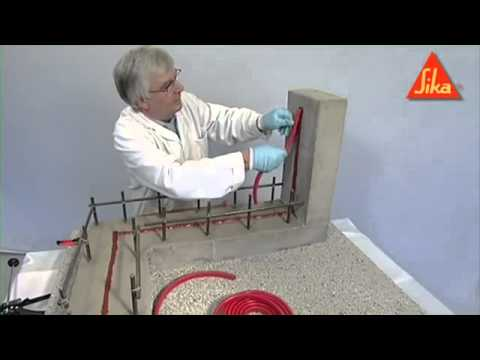 Sikaswell Waterstop Installation Demo Sika Limited Youtube