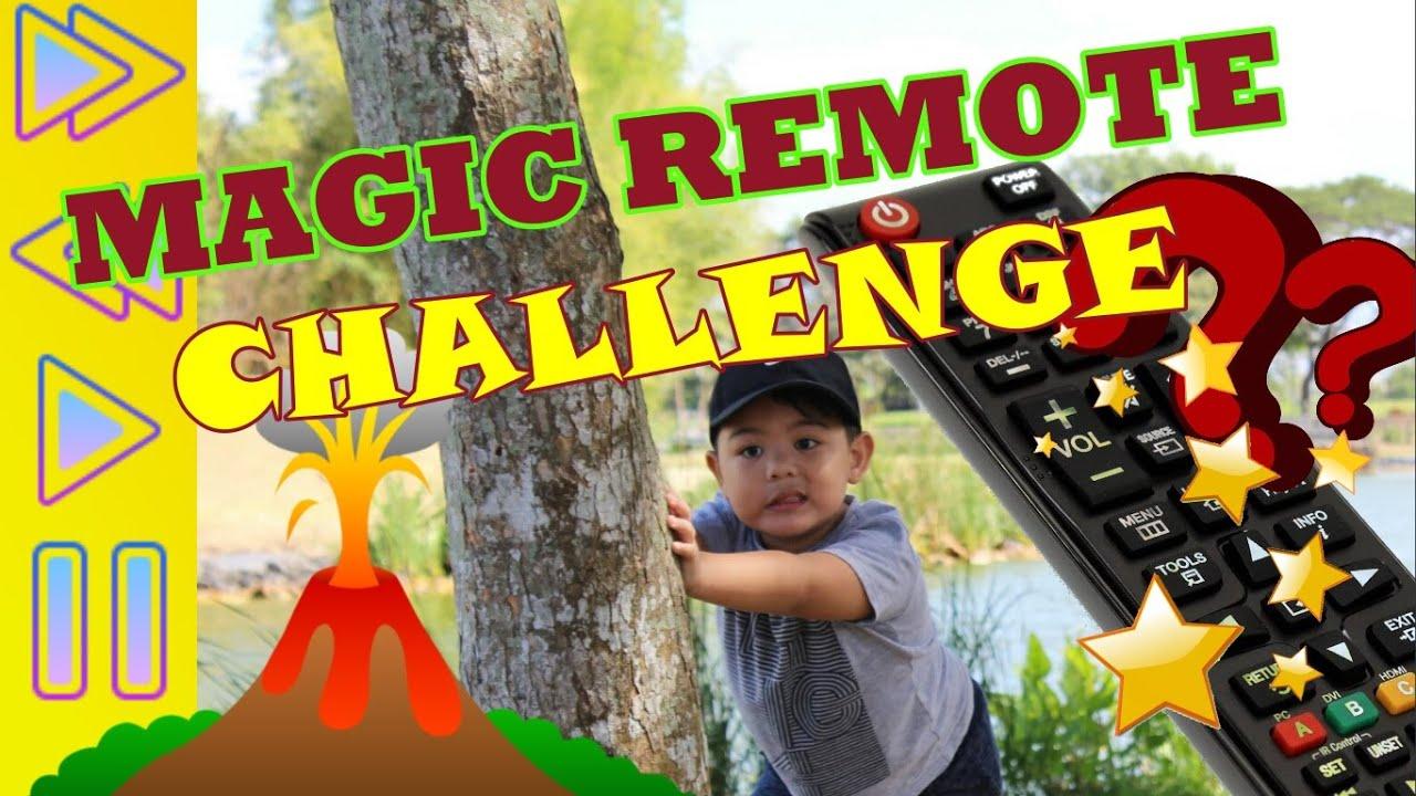 PAUSE UNPAUSE CHALLENGE   MAGIC REMOTE CHALLENGE   MATTEO PLAYS THE MAGIC REMOTE   KIDS VIDEOS