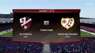 SD Huesca Vs Rayo Vallecano II Spanish Primera División II FIFA 18 PS4 Gameplay