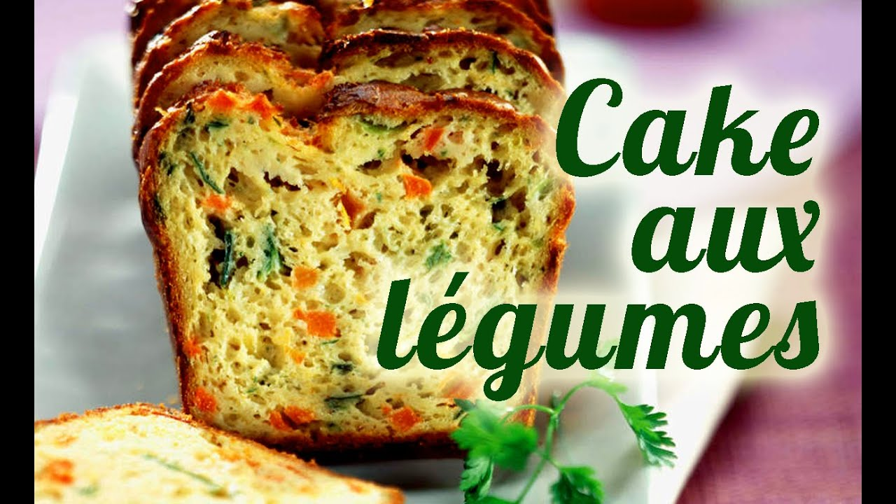 Recette Thermomix Cake Sal Aux L Gumes Youtube