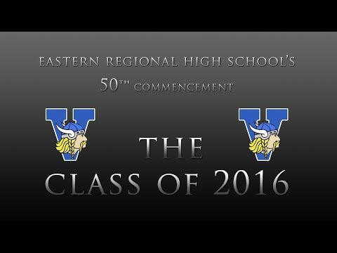 Eastern Regional High School 2016 Graduation