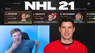 RESTARTING THE NHL WITH A FANTASY DRAFT! NHL 21