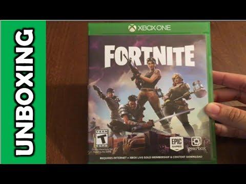 Fortnite (Xbox One) Unboxing! - YouTube