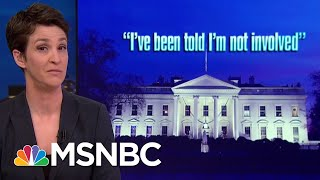 President Trump Stomps On Own Legal Strategy With Blurting Rant On Fox News | Rachel Maddow | MSNBC
